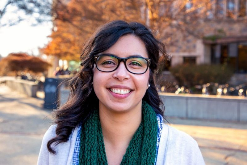 Ana Corral encourages connections within the region's LatinX community through work in the University Libraries